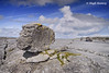Ireland - Co.Clare - The Burren (Hugh Rooney 34) Tags: ireland republicofireland countyclare burren rocks limestone landscapes skies clouds shapes patterns striated lunarlike geology geography