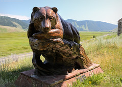 The National Museum of Wildlife Art - Sculpture Walk (Jeff_B.) Tags: wyoming yellowstone jackson jacksonhole grandteton nationalpark america usa sculpture museum wildlife art nationalmuseumofwildlifeart walterwood