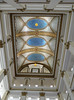 Chicago, Marshall Field & Co. (now Macy's), Atrium with Tiffany Mosaic Ceiling (Mary Warren 9.6+ Million Views) Tags: chicago marshallfieldco macys atrium decoration lamp light tile mosaic blue yellow geometry design lines diagonals ceiling charlescomforttiffany glass favrileglass