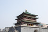 Xi'an Bell Tower (virtualwayfarer) Tags: xian belltower tower fortification wall fortress china beijing asia xianprovince street streetphotography travel travelphotography exploring canon exploringchina canon6d silkroad chinesearchitecture ancientcapital formercapital