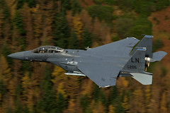 """Autumn in Snowdonia!"" (PhoenixFlyer2008) Tags: usafe raflakenheath liberty f15e strikeeagle madhatters bolars 492nd 492ndfsmadhatters 48thfw canon wales aviation aircraft aircrew autumn snowdonia"