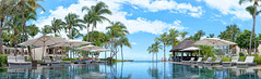 Infinitypool Mauritius (Stan de Haas Photography) Tags: mauritius hotel infinitypool pool swimming summer sun blue sky palm palms water cloud tropicalisland island tropical hot