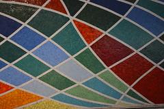 Rome, Italy - Subway Art (jrozwado) Tags: europe italy italia rome roma unescoworldheritage subway metro art mosaic