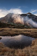Specchio gelato (cesco.pb) Tags: passodelsempione simplonpass fletschhorn alps alpi switzerland svizzera montagna mountains alba dawn sunrise canon canoneos60d tamronsp1750mmf28xrdiiivcld