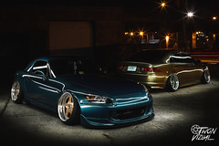TSX (twonvizual) Tags: acura tsx stance bagged accuair bagriders