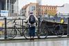 Bicycles and river bank (Barak Eylam) Tags: berlin germany bicycles river rail bridge overlook