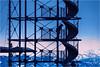 Climbing for a better View... (Ody on the mount) Tags: anlässe architektur berge blau blauestunde bodensee em5ii filmkorn fototour friedrichshafen licht menschen molenturm omd olympus seeberge türme urlaub badenwürttemberg deutschland de