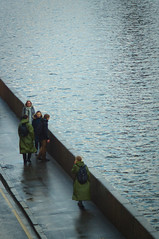 (dmitre_silin) Tags: moscow she water street silin russia people green rain river asphalt coat