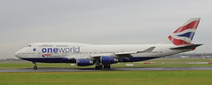 G-CIVI Boeing 747-436 British Airways take-off roll at Dublin Airport runway 28 (12-12-17) (Conor O'Flaherty) Tags: british airways oneworld dublinairport eidw dublin dub 28 alliance rollsroyce 747 747400 747436 diverson