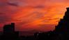 Ocaso (J.vier) Tags: dusk sky ocaso anochecer puestadesol twilight cielo ciel orange blue naranja azul edificio silueta skyline perfil buildings mar sea mirrorless sony apsc nex montaña mountain