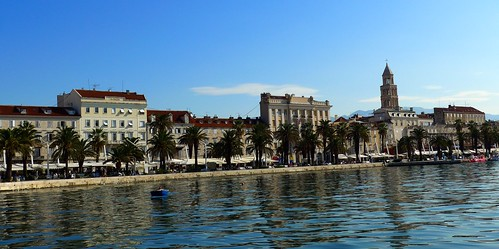 Split waterfront, Croatia