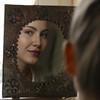 Portrait mit Spiegel (Feinblick) Tags: frau schön jung beauty spiegelbild spiegel
