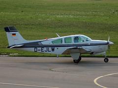 D-EJLW Beech F33A Bonanza (johnyates2011) Tags: friedrichshafen aerofriedrichshafen dejlw beech beech33bonanza beech33