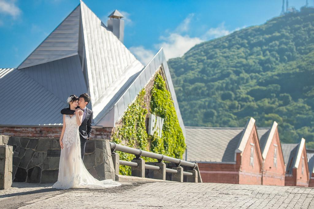 北海道婚紗 金森倉庫婚紗拍攝