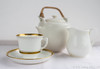 Tea Things. (Tricia Laing) Tags: 22117 tea pot cup jug white