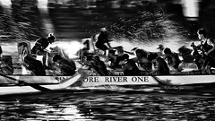 Night dragon boat race (leechinyee) Tags: blackandwhite sports dragonboat race night olympus em1 omd 40150mmf28