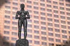 Sentry (Michael F. Nyiri) Tags: losangeles downtownlosangeles architecture california southerncalifornia city art statue