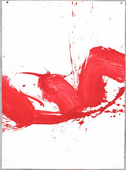 2000.09-2001.02[4] Paper red ink and metal plate oil painting Taipei Shenkeng Caodiwei studio 纸上朱墨与金属板上油画 台北深坑草地尾工作室-31 (8hai - painting) Tags: 2000092001024 paper red ink metal plate oil painting taipei shenkeng caodiwei studio 纸上朱墨与金属板上油画 台北深坑草地尾工作室 yang hui bahai