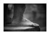 El pie del Emperador... (protsalke) Tags: blancoynegro blackandwhite monochrome darks lights shadows estatues museum merida nikon primelens museo emeritaaugusta spain roman ancient bw iconic arteromano romanart 50mmaisf12 estatuas españa