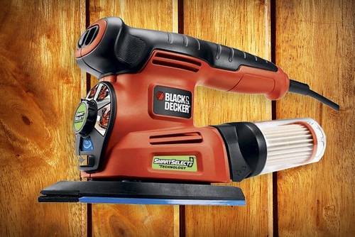 Black & Decker MS2000 4-in-1 SmartSelect Multi Sander Review