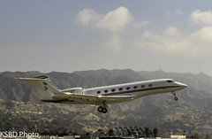 N22T G650ER (KSBD Photo) Tags: burbank california unitedstates us n22t g650er fanfriday