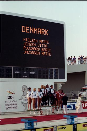 450 Swimming EM 1991 Athens