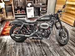 Not just the meatballs now.. (Mike-Lee) Tags: harley harleydavidson motorbike bike motorcycle sheffield ikea nov2017 snapseedapp