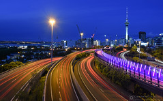 Light Trails Photography in Auckland, New Zealand