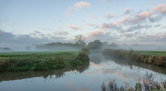 Misty Morning (Martine Lambrechts) Tags: misty morning landscape nature water clouds