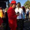Band Merch Guy (tmvissers) Tags: sandiego adams avenue street fair 2017 redsuit band merch guy