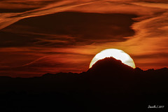 P1380961_b (daniellelallemand) Tags: picdumidi pyrénées midipyrenées sunset