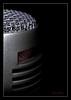 Is This Thing On? (J Michael Hamon) Tags: pyle microphone macromondays macro closeup light lighting shadow mesh hamon nikon d3200 nikkor 40mm blackbackground photoborder vignette stilllife