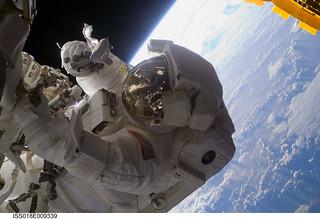 Astronaut Steve Bown Spacewalks at ISS