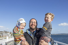 Kid and the lighthouse (quinn.anya) Tags: sam paul toddler preschooler andy marthasvineyard edgartown lighthouse