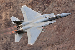 F-15C Eagle 'DOG21/22' I 86-0144/CA I 144th FW, Californian ANG, Fresno (MarkYoud) Tags: rainbow canyon star wars jedi transition nevada death valley sidewinder low level military fast jet