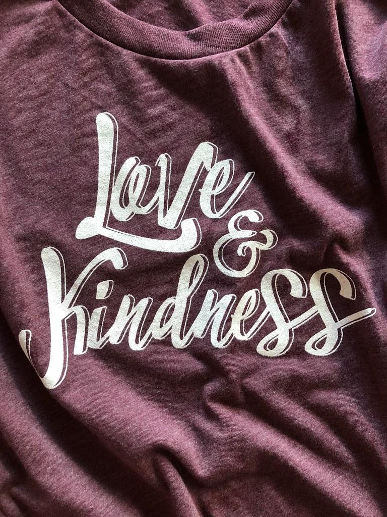 b4e1d05fb555 Gusto Graphic Tees (Gusto Graphic Tees) Tags: gusto graphic tees love  kindness tshirt