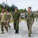 U.S., ROK Navy personnel tour the Explosive Ordnance Disposal Mobile Unit 5 aboard Naval Base Guam
