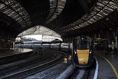 Train on Test (powern56) Tags: bristoltemplemeads railwaystation bristol gwr greatwesternrailway 5z23 testtrain iep railway passengertrain 802001 802002 class802