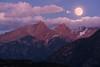 Full moon over Pigeon and Turret (Matt Payne Photography) Tags: colorado durango fullmoon landscape moon moonrise mountains needlemountains night pigeonpeak purgatoryresort sanjuanmountains sonya7r2 sonyfe70300 southwestcolorado supermoon turretpeak