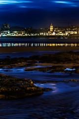 Colors in the sea (cangués) Tags: gijón asturias spain color longexposure sea water light city