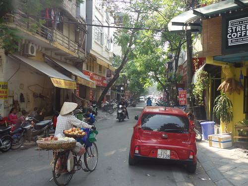 Une des rues de la ville
