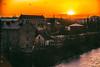 City sunset (Maria Eklind) Tags: slott malmöhusslott canal skåne solnedgång skybar malmölive street himmel sunset sweden castle malmöhus sky city malmö skånelän sverige se