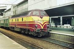 CFL 1805 at Liège Guillemins (Twydallaer) Tags: cfl 1805 liègeguillemins