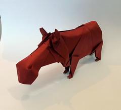 Hippopotamus (orig4mi.) Tags: hippopotamus origami paperfolding