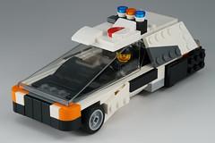 Police_car_01 (kaba_and_son) Tags: police car lego bladerunner ブレードランナー レゴ ポリスカー パトカー