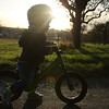 1154 (StriderBikes) Tags: 12 2017 boy classic determined grass green helmet jeans october photocontestentry spokes striding sweatshirt trees
