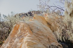 Fraser/k'gari - coloured sands (burntfeather) Tags: paradise 2017 kgari sandisland camping largestsandisland fraserisland fraser australia queensland pinnacles colouredsands cathedrals