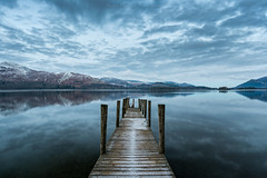 a cold blue morning (akh1981) Tags: nikon nisi landscape manfrotto mountains cumbria clouds calm catbells derwent derwentwater wideangle water walking lakedistrict travel tranquil sunrise