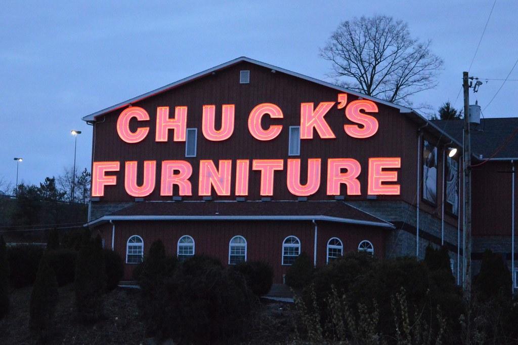 Incroyable Chucku0027s Furniture Morgantown, WV (Dinotography24) Tags: Chucks Furniture  Morgantown Wv Westvirginia Neon