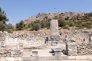 Ruines de la cité antique de Xanthos, Turquie